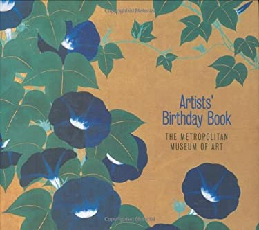 Artists' Birthday Book 9780811858496