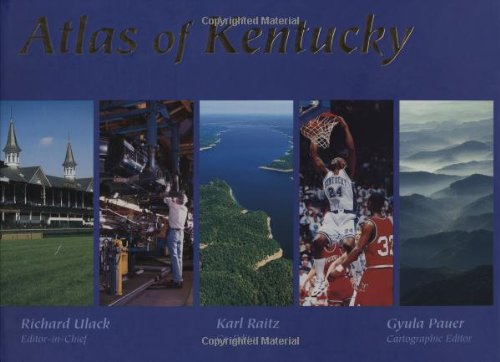 Atlas of Kentucky 9780813120058