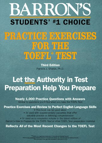 Barron's Practice Exercises for the TOEFL Test 9780812033984