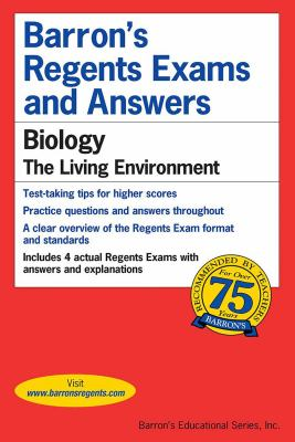 Barron's Regents Exams and Answers: Biology--The Living Environment 9780812031973