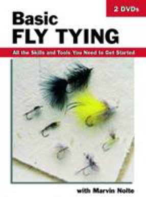 Basic Fly Tying-DVD: All the Skills and Tools You Need to Get Started