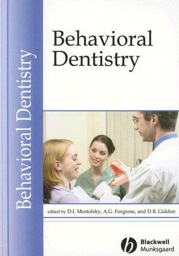 Behavioral Dentistry 9780813812137