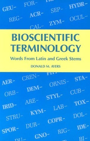 Bioscientific Terminology 9780816503056