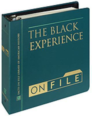 Black Experience 9780816022274