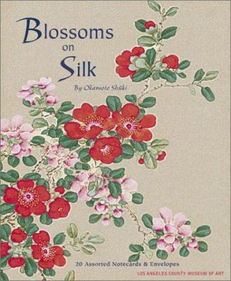 Blossoms on Silk Notecards 9780811840668