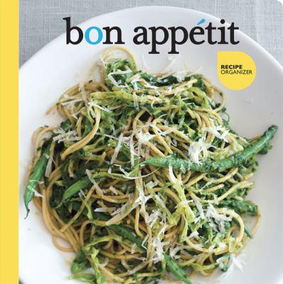 Bon Appetit Recipe Organizer 9780811868242