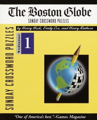 Boston Globe Sunday Crossword Puzzles, Volume 1 9780812925401