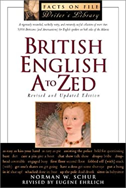 British English, A to Zed 9780816042395