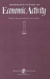 Brookings Papers on Economic Activity 1999: 1, Macroeconomics