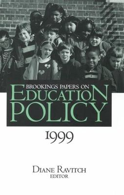 Brookings Papers on Education Policy: 1999 9780815773559