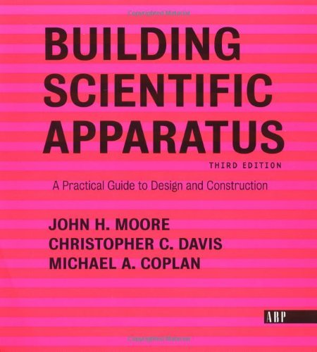Building Scientific Apparatus: Third Edition 9780813340067