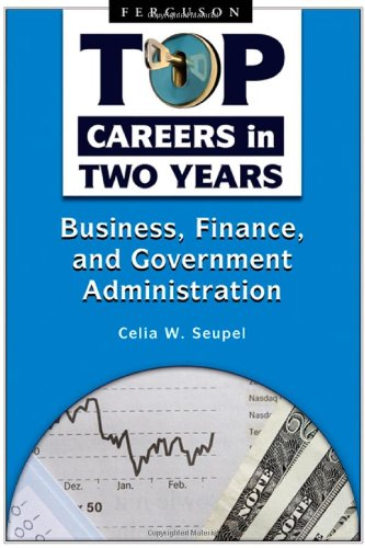 Business, Finance, and Government Administration 9780816068999