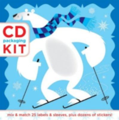 CD Packaging Kit: Happy Holidays!: Mix & Match 25 Labels and Sleeves, Plus Dozens of Stickers! [With Dozens of Stickers and 25 CD Labels and Sleeves] 9780811859950