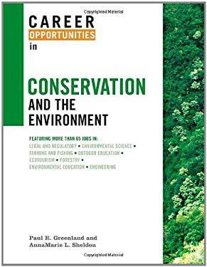 Career Opportunities in Conservation and the Environment 9780816067428