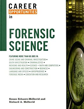 Career Opportunities in Forensic Science 9780816061563
