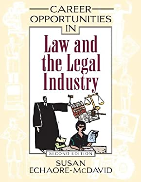 Career Opportunities in Law and the Legal Industry 9780816067169
