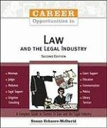 Career Opportunities in Law and the Legal Industry 9780816067176