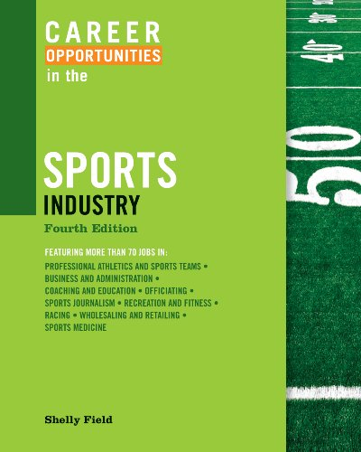 Career Opportunities in the Sports Industry 9780816077816