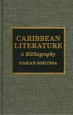 Caribbean Literature: A Bibliography 9780810834521