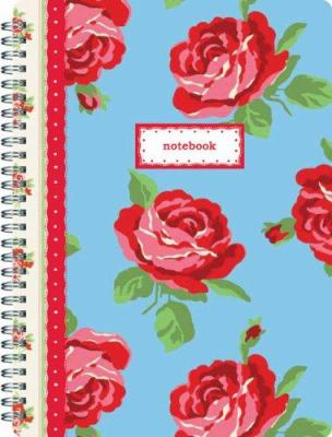Cath Kidston Ottoman Roses Notebook 9780811857642