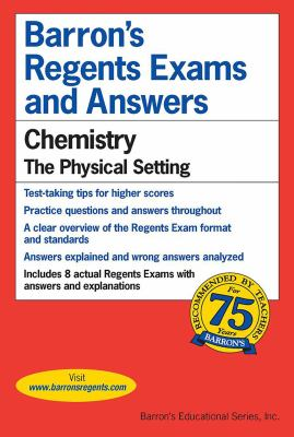 Chemistry -- The Physical Setting 9780812031638