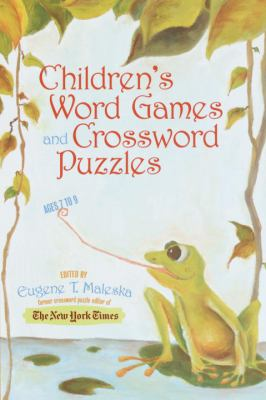 Children's Word Games and Crossword Puzzles 9780812935226