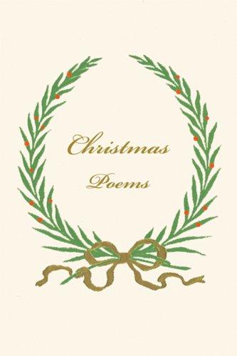 Christmas Poems 9780811218085