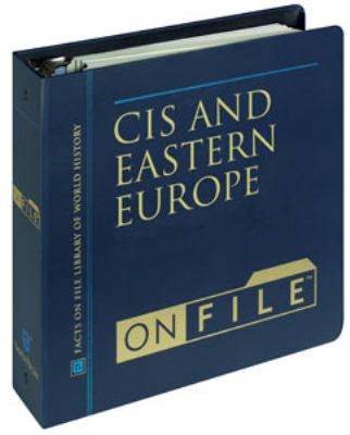 Cis and Eastern Europe on File& #153; 9780816029204