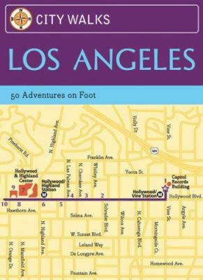City Walks: Los Angeles Cards: 50 Adventures on Foot 9780811859073