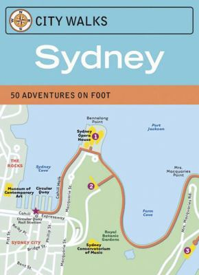 City Walks: Sydney Cards: 50 Adventures on Foot 9780811862837