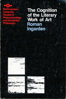 Cognition of the Literary Work of Art 9780810105997