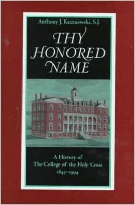 College of the Holy Cross 9780813209111