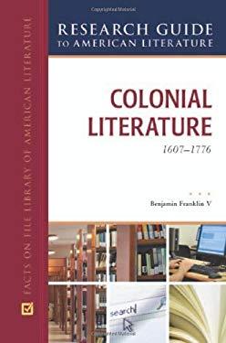 american colonial literature