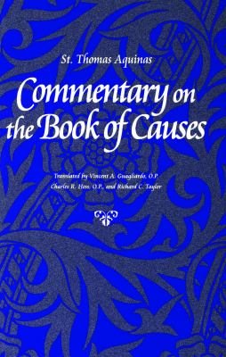 Commentary on the Book of Causes 9780813208442