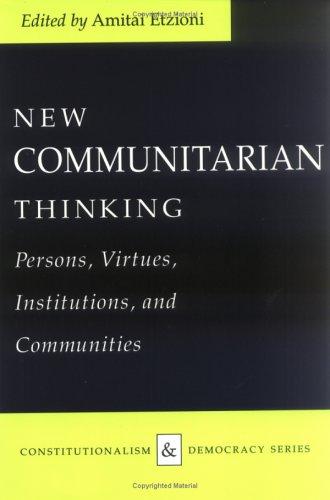 Communitarian Thinking (P) 9780813915692