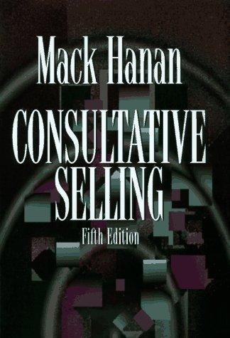 Consultative Selling 9780814403037