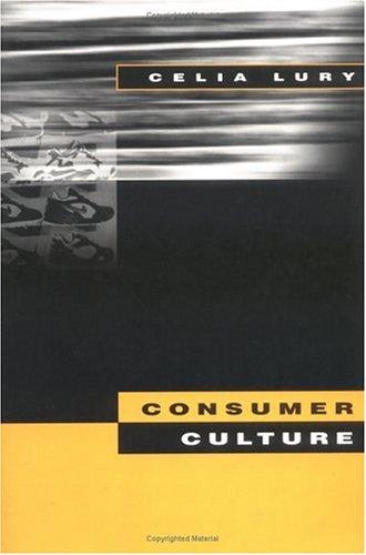 Consumer Culture 9780813523293