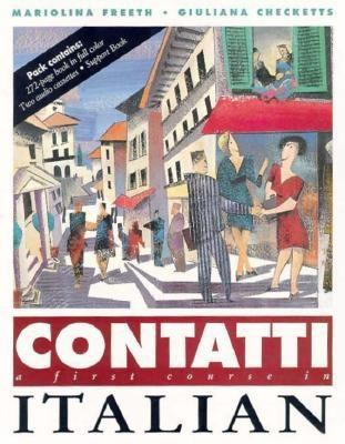 Contatti: A First Course in Italian 9780812082364