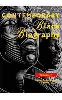 Contemporary Black Biography: Profiles from the International Black Community 9780810385597