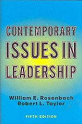 Contemporary Issues in Leadership: Fifth Edition