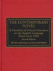 The Contemporary Novel: A Checklist of Critical Literature on the English Language Novel Since 1945 9780810831032