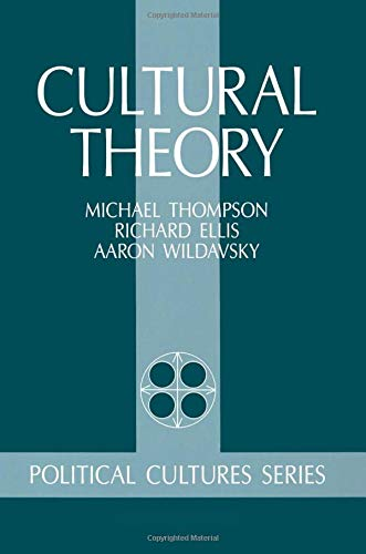 Cultural Theory 9780813378640