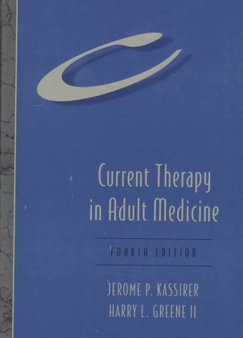 Current Therapy in Adult Medicine 9780815154808