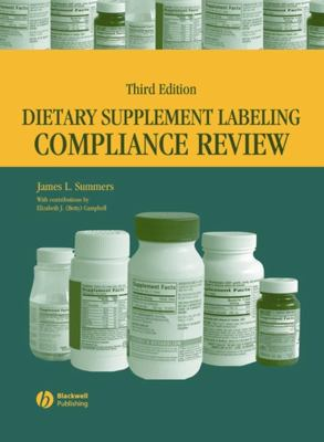 Dietary Supplement Labeling Compliance Review 9780813804262