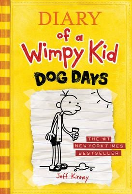 Diary of a Wimpy Kid #4 - Dog Days 9780810983915