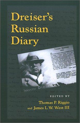 Dreiser's Russian Diary 9780812280913