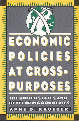 Economic Policies at Cross Purposes: The United States and Developing Countries 9780815750536