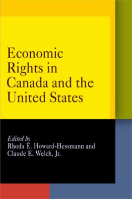 Economic Rights in Canada and the United States 9780812239256