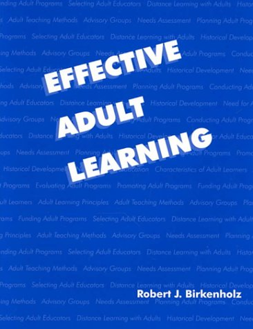Effective Adult Learning 9780813431604