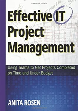 Effective IT Project Management: Using Teams to Get Projects Completed on Time and Under Budget 9780814408124